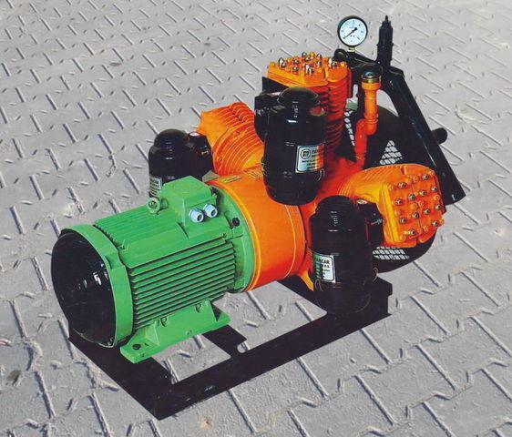 compressor pneumático para V3.16 tłokowy z silnikiem elektrycznym cisterna semi-reboque