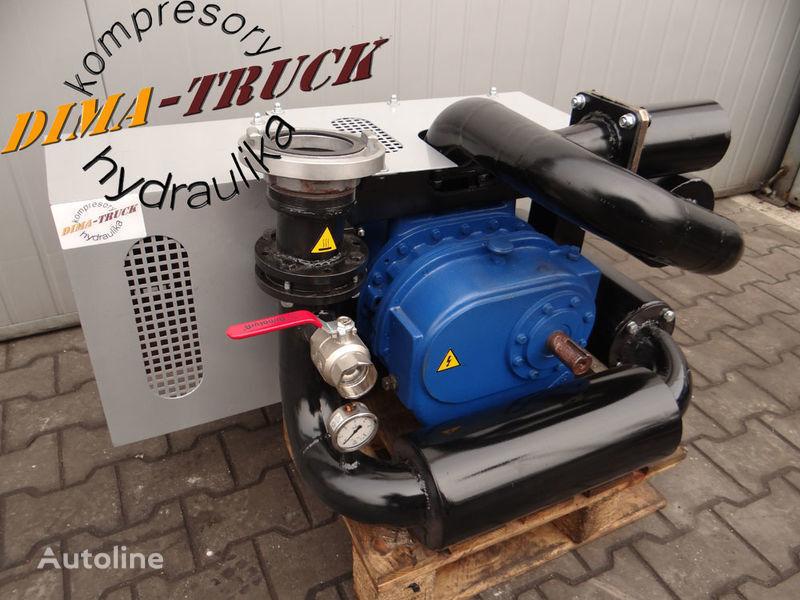 kompresor paszowy paszowóz gardner denver compressor pneumático para animal feed compressor camião novo