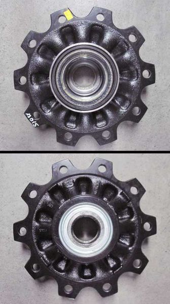 SAF 3307116601.3307116600 cubo de roda para reboque novo