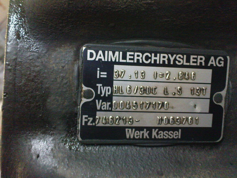 MERCEDES-BENZ HL6 ,40/13,37/13, Mercedes eixo para MERCEDES-BENZ AXOR,ACTROS camião tractor