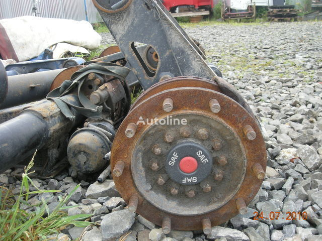 SAF SKRB 9019 WI,, SKRB 9022 KI eixo para SAF semi-reboque