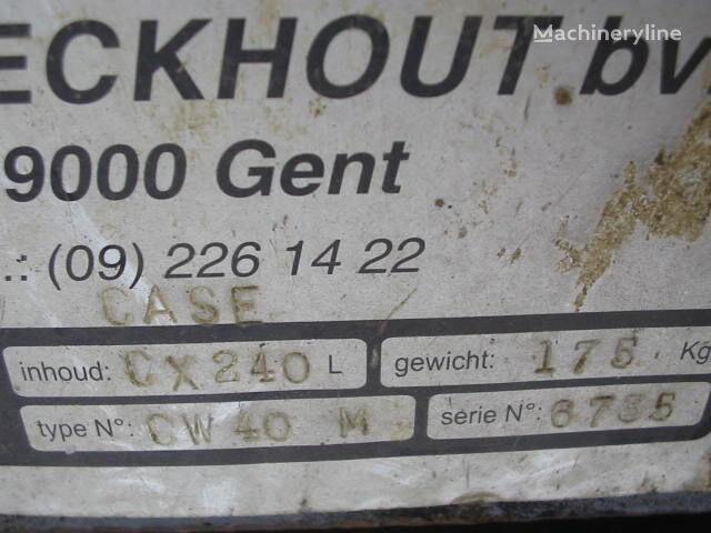 engate rápido CASE CW40M para escavadora CASE CX240L novo