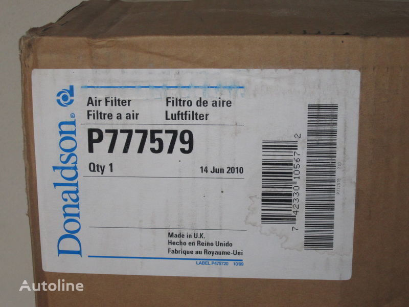 P 777579 Nimechchina filtro de ar para camião novo