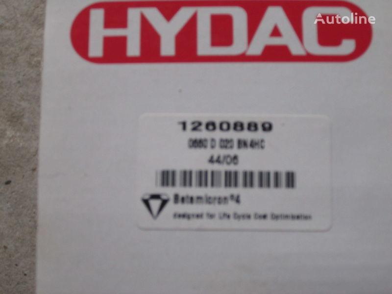 Nimechchina Hydac 1260889 filtro hidráulico para escavadora novo