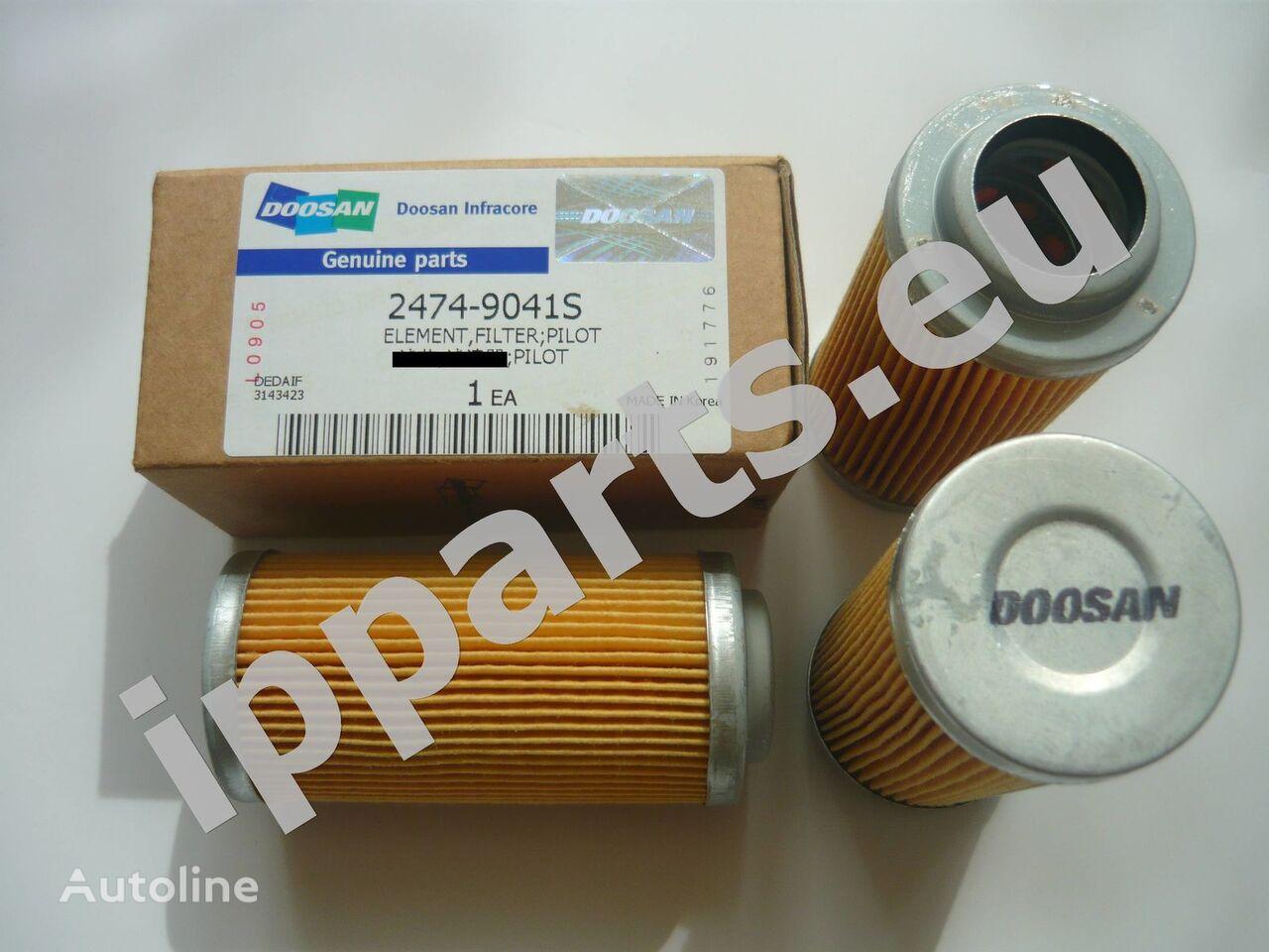 filtro hidráulico DOOSAN para escavadora DOOSAN 140, 160, 180, 300, 340, 220,225, 255,