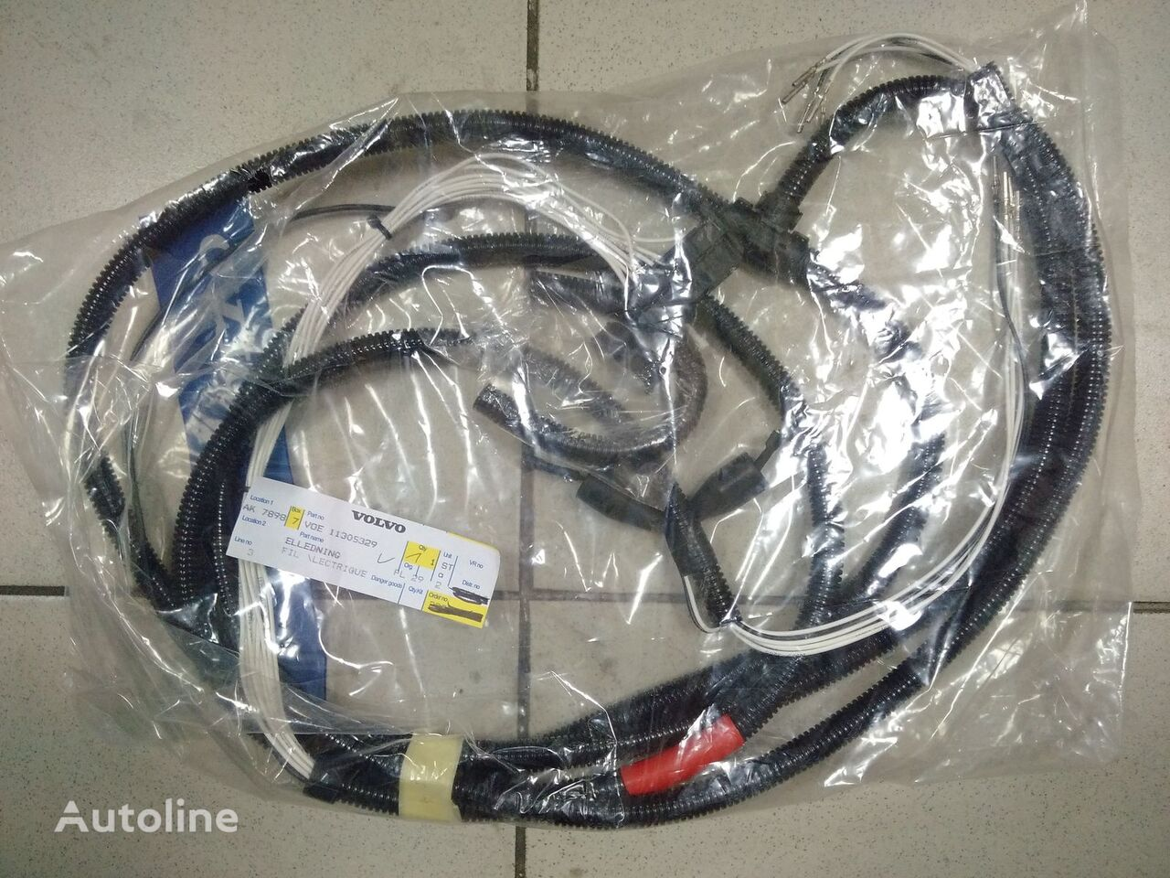 VOLVO Elektricheskiy kabel VOE11305329 fios elétricos para VOLVO carregadeira de rodas novo