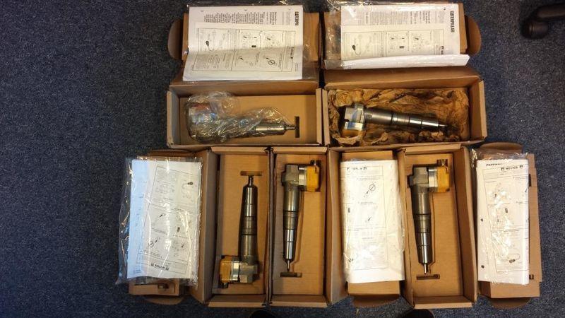 CATERPILLAR injetor para CATERPILLAR 3412 / 651E / 657E escavadora