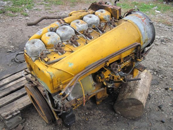 Deutz BF6L913 motor para escavadora