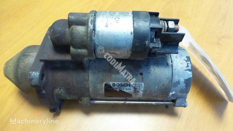 motor de arranque para CASE WX150 escavadora