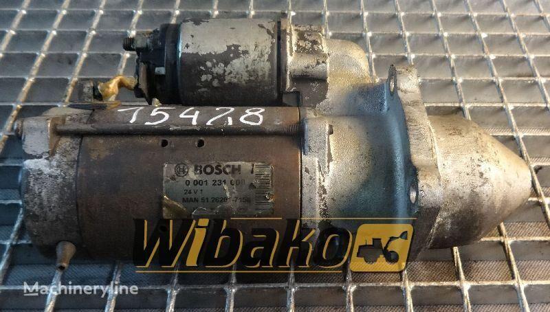 Starter Bosch 0001231008 motor de arranque para 0001231008 outros equipamentos de construção