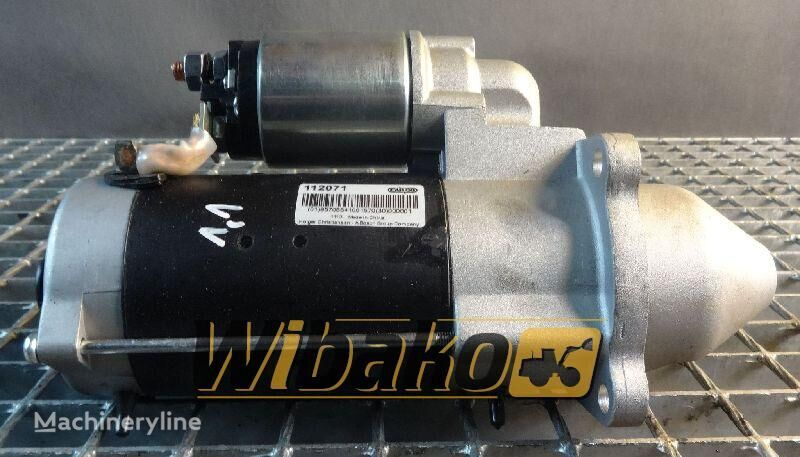 Starter Cargo 112071 motor de arranque para 112071 outros equipamentos de construção