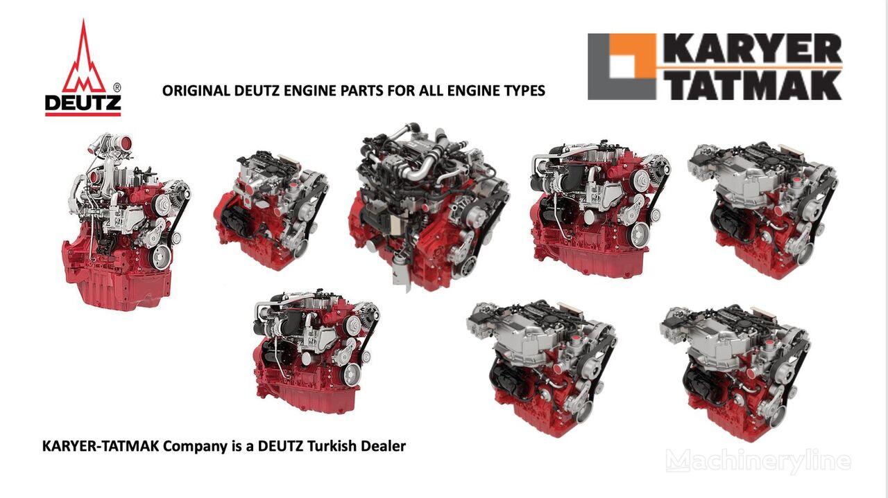 motor DEUTZ TCD 2.2 TCD 2.9 TCD 3.6 TCD 4.1 para rolo compressor novo