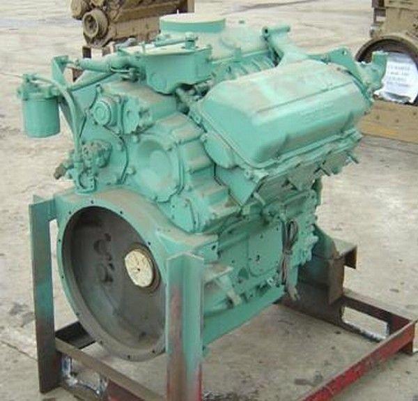 motor para Detroit 6V53 outros equipamentos de construção