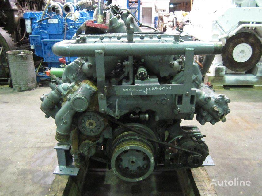 motor MAN D2848LE403 marine engine para caravana MAN D2848LE403 novo