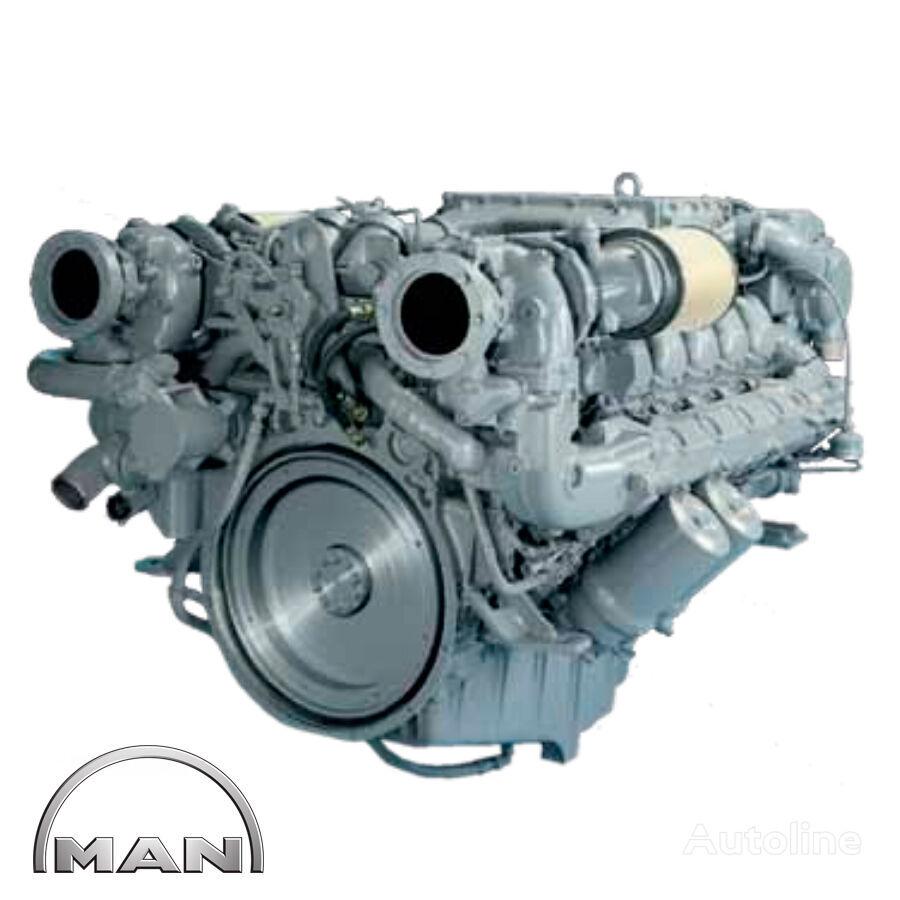 motor MAN MARINE V12-1580 D2842 LE409 para caravana MAN novo