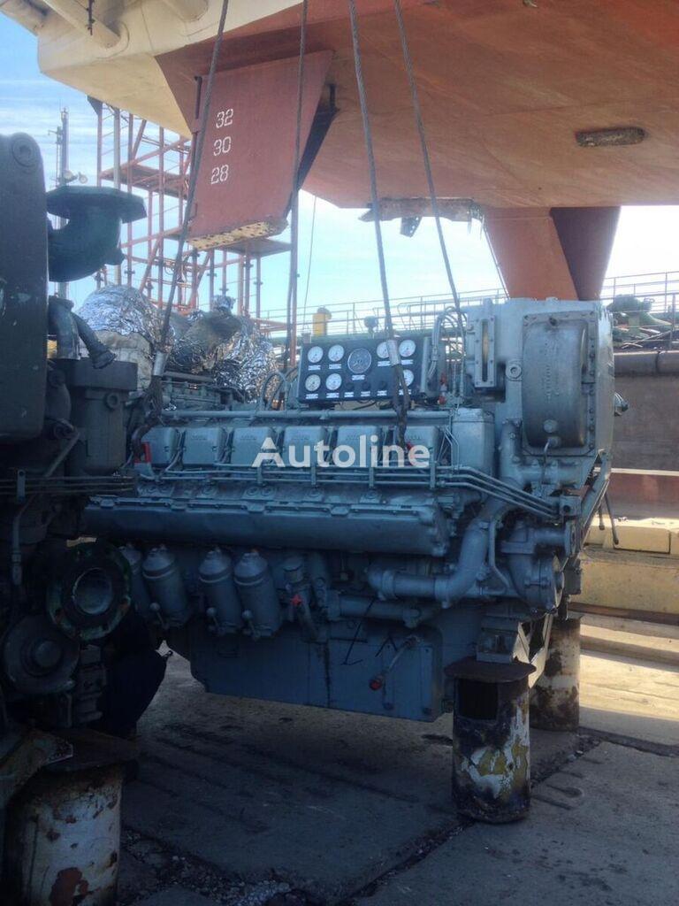 motor MAN MTU MARINE 12V396 TC82 para caravana MAN