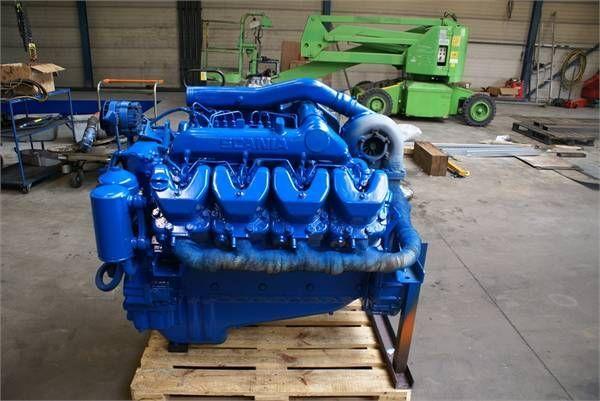 motor para SCANIA DSC 14 01 outros equipamentos de construção
