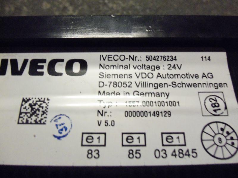 IVECO EURO5 instrument panel cluster 504276234, 504226363, 504025358, 504156164, 504156187 painel de instrumentos para IVECO Stralis camião tractor