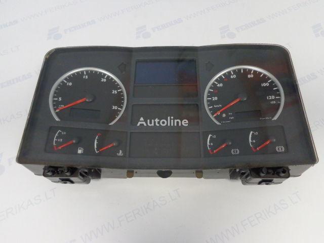 MAN Siemens VDO Automative AG 81272026154 painel de instrumentos para MAN camião tractor