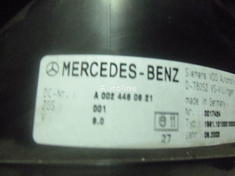 MERCEDES-BENZ MP2, MP3, MP4, INS electronic instrument panel 0024461321 painel de instrumentos para MERCEDES-BENZ Actros camião tractor