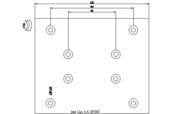pastilhas de travão RENAULT D415MM,187*220*18.5MM (1REM) TEXTAR para camião RENAULT MAGNUM AE385/420/520 01.93- novo
