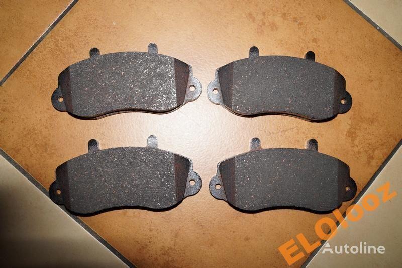 peças sobressalentes para KLOCKI HAMULCOWE MASTER JUMPY 7485114489 PRZÓD camião