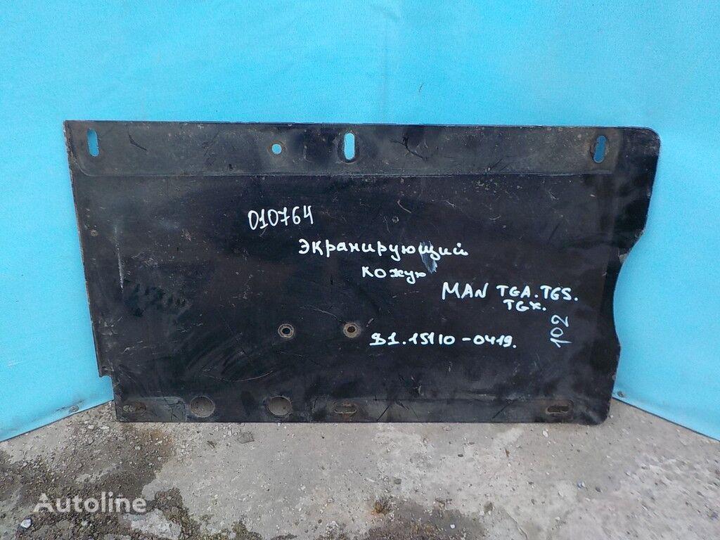 Ekraniruyushchiy kozhuh glushitelya peças sobressalentes para MAN camião