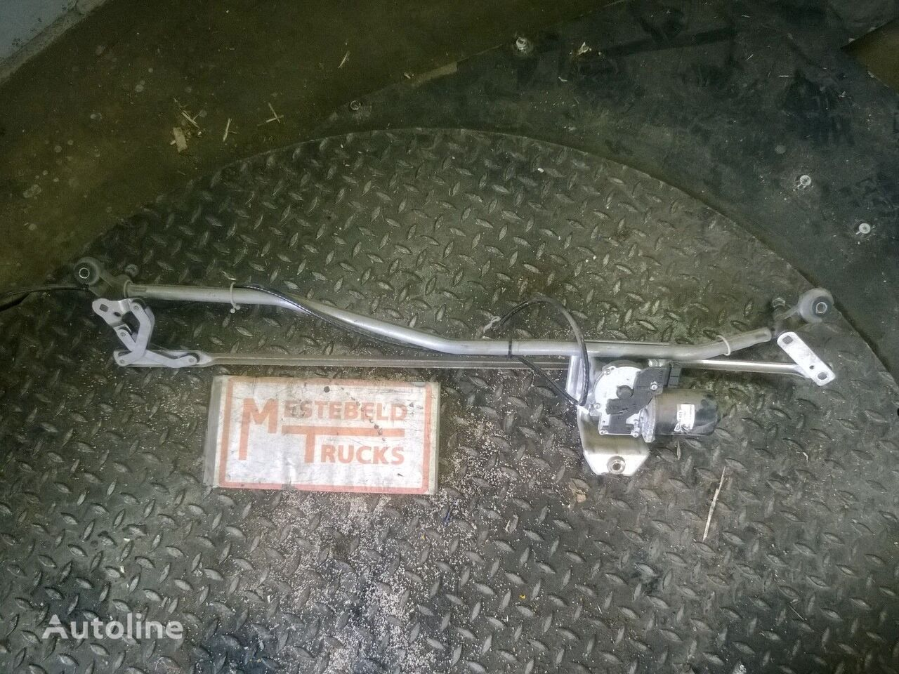 Ruitenwissermechanisme + motor peças sobressalentes para MERCEDES-BENZ Ruitenwissermechanisme + motor camião