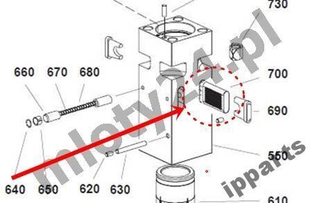 MONTABERT peças sobressalentes para MONTABERT 1200 klin zabezpieczenie grot nie Ramer outros equipamentos de construção