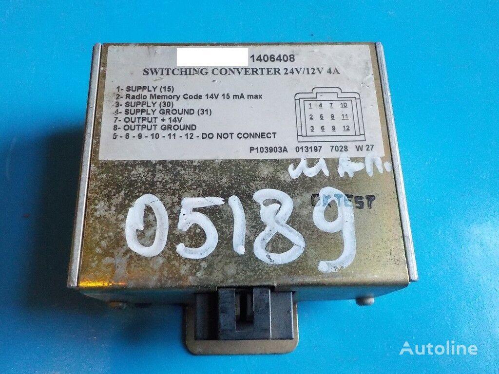 Preobrazovatel napryazheniya (adapter) SCANIA peças sobressalentes para SCANIA camião