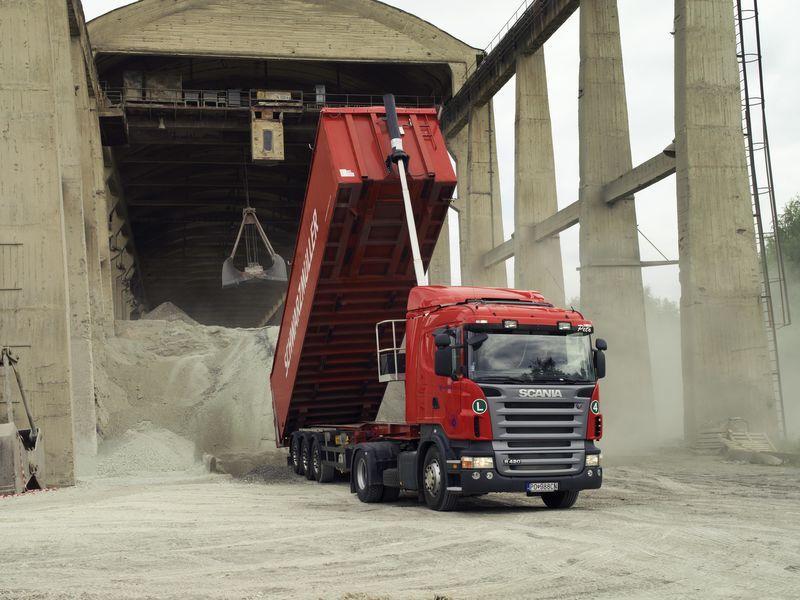 sistema basculante para camião tractor novo