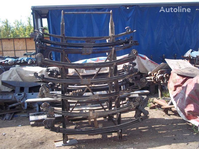 suspensão de lâminas para MAN camião tractor