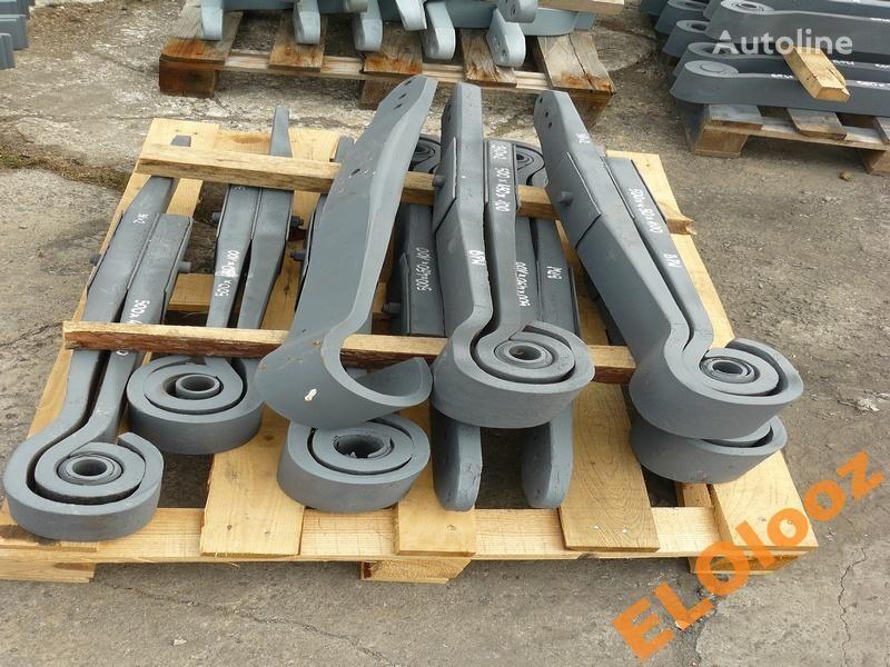 suspensão de lâminas para PÓŁ 500x450x100 BPW KR150 camião