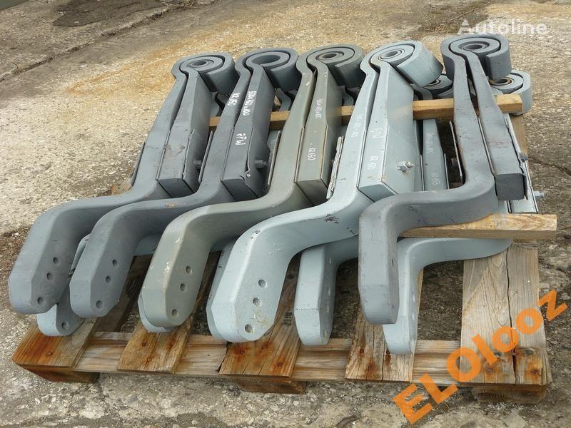 suspensão de lâminas para PÓŁ 500x470x100 BPW KR150 camião