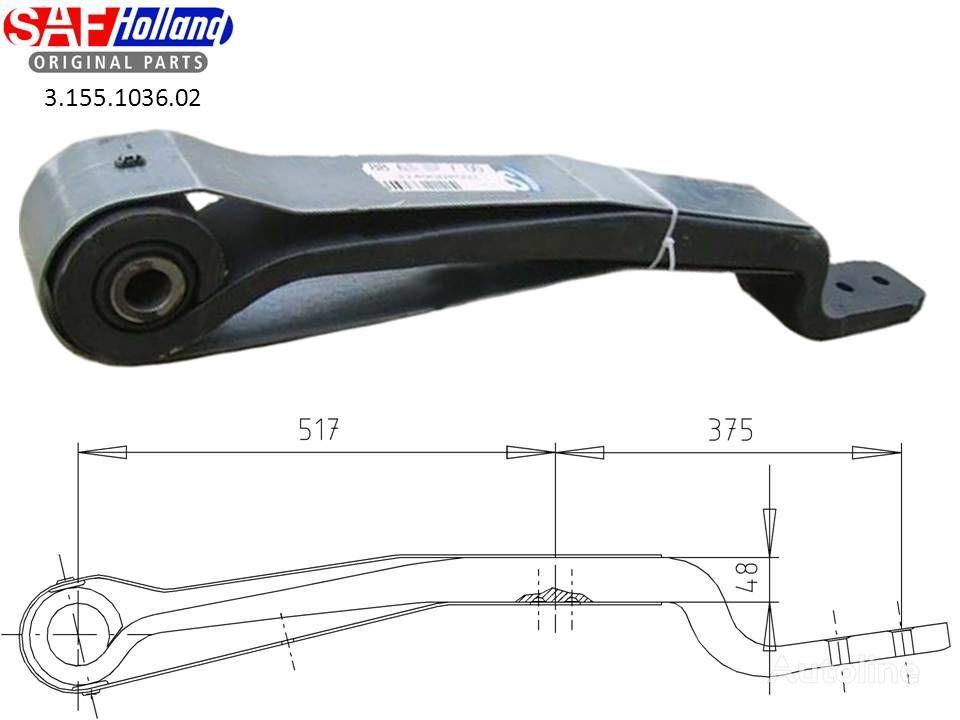 SAF 3155103602,3155103601,F188Z035ZA75 suspensão de lâminas para SAF camião tractor nova