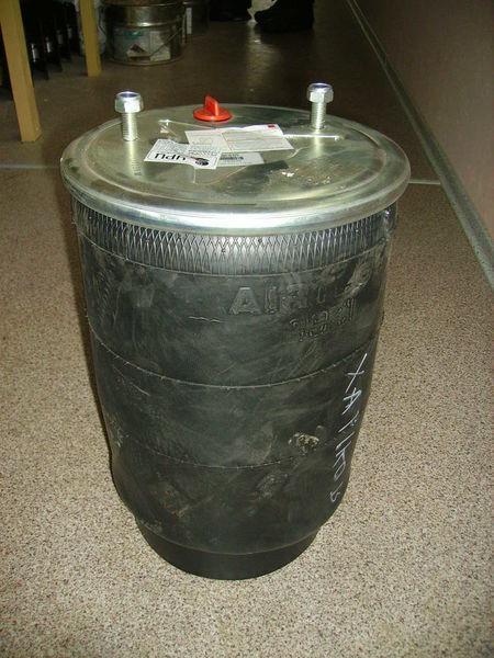 941 MB na os BPW suspensão pneumática para semi-reboque novo