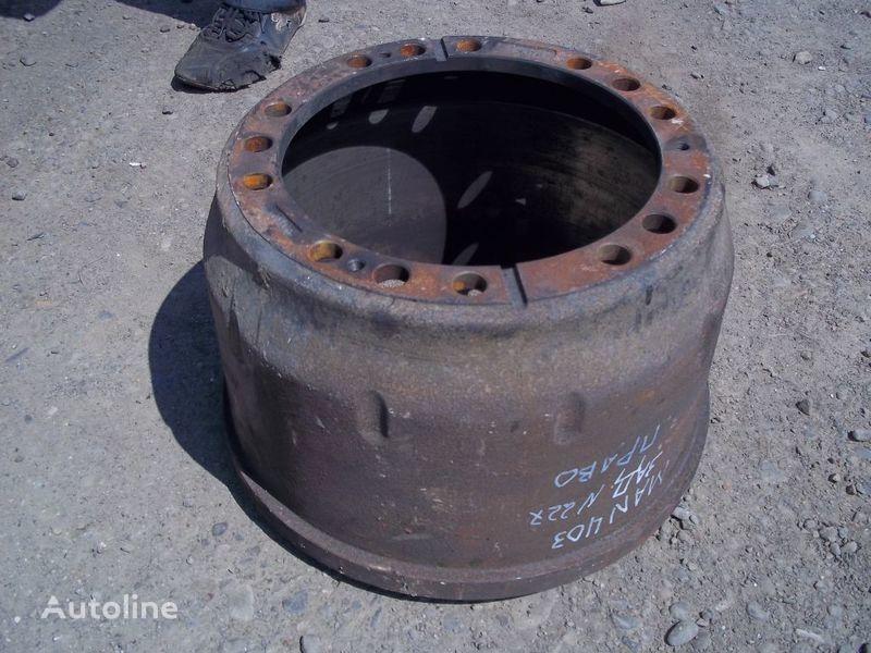 tambor de travão para MAN F2000 camião