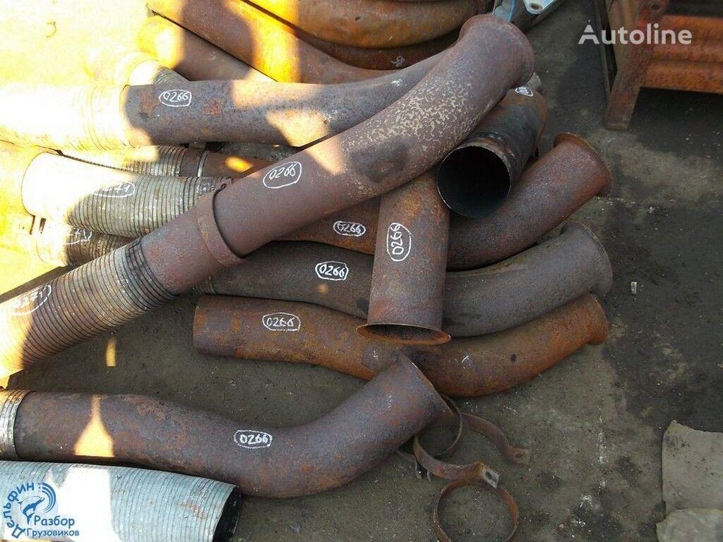 Truba glushitelya s turbiny tubo de escape para camião