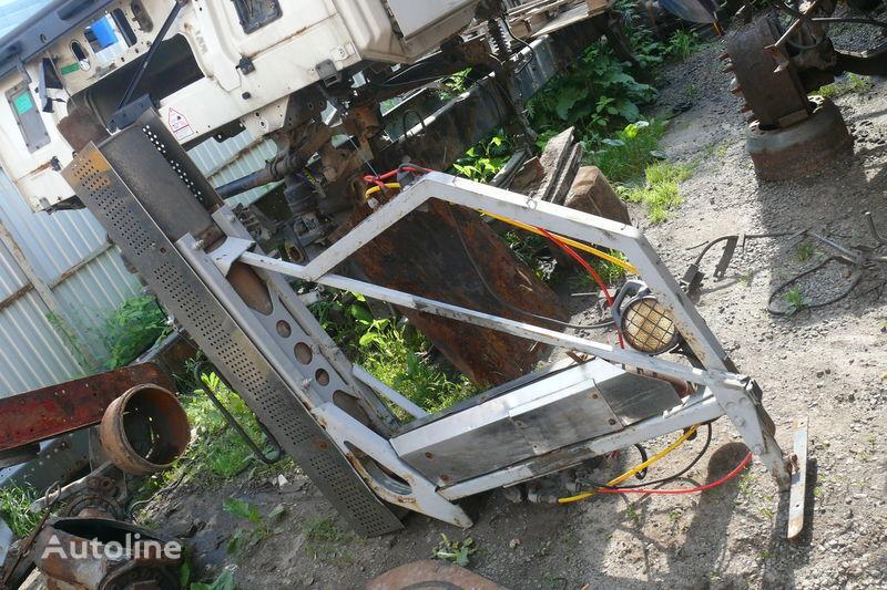Sistema gazovyvoda tubo de escape para DAF XF,CF camião tractor