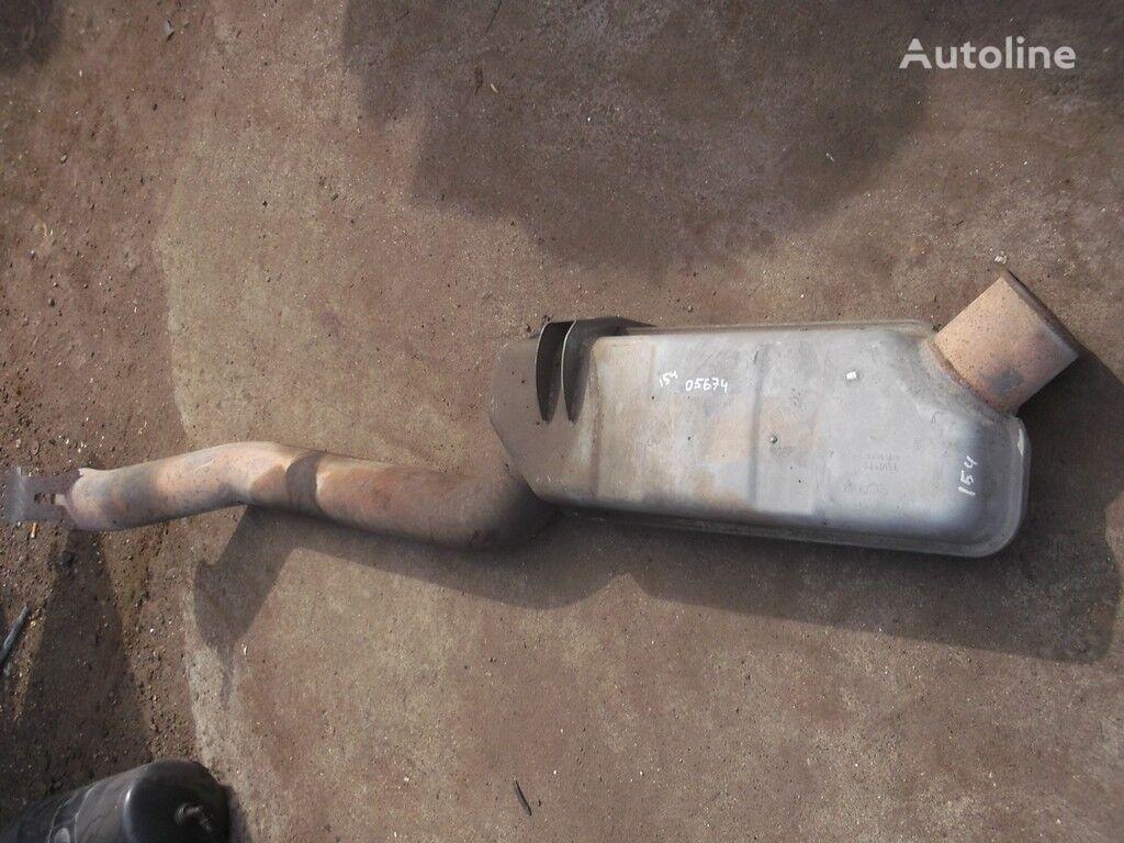 Vypusknaya truba glushitelya tubo de escape para SCANIA camião