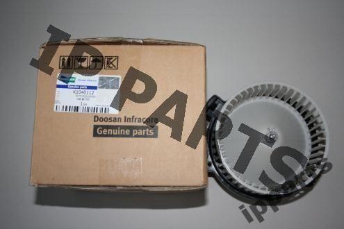 ventilador de radiador para DOOSAN wentylator 2538-6015 K1040112 nawiew escavadora