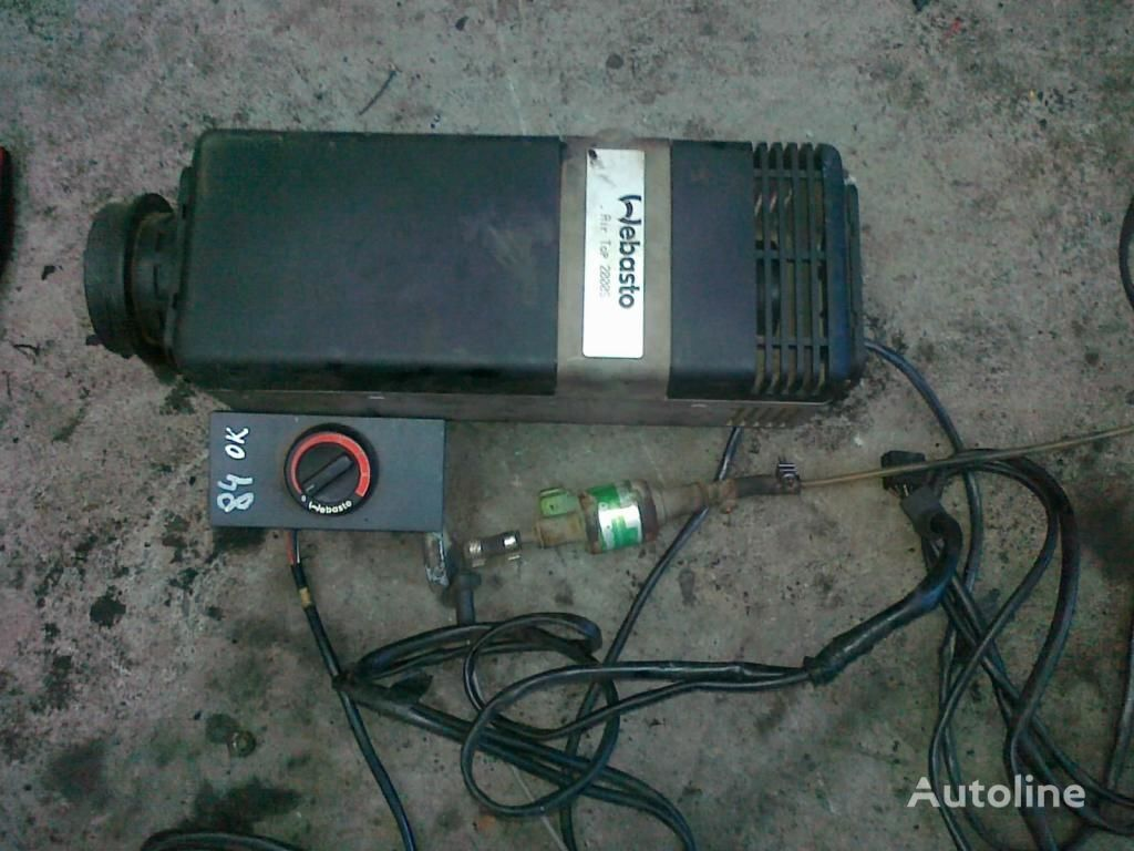 aquecedor autônomo para OGRZEWANIE postojowe 24V Webasto Air Top 900 zl
