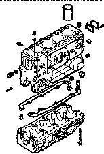 IVECO BLOQUE DAILY 8140,43 N bloco de cilindros para IVECO 35S15 carrinha novo