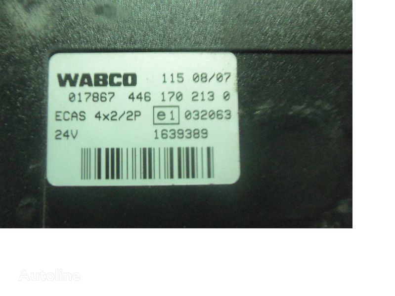 DAF 105 XF, ECAS electric control unit 1639389; 1657855, 1657854, 1686733, 1732019 bloco de controlo para DAF 105XF camião tractor