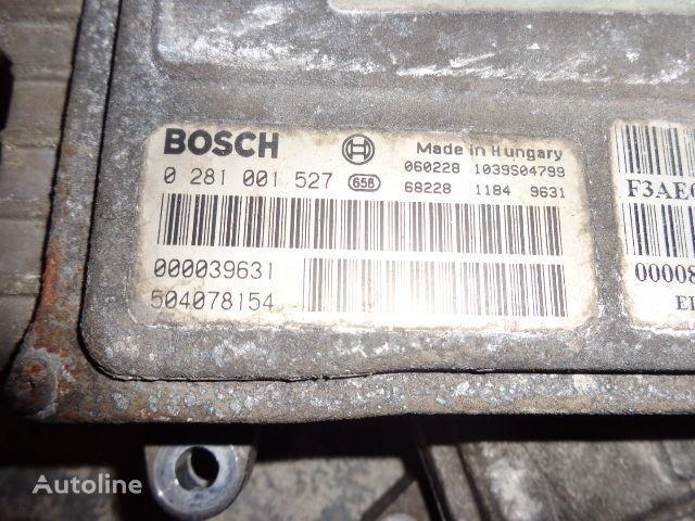 IVECO Euro3 engine control unit ECU EDC, BOSCH 0281001527 bloco de controlo para IVECO Stralis camião tractor