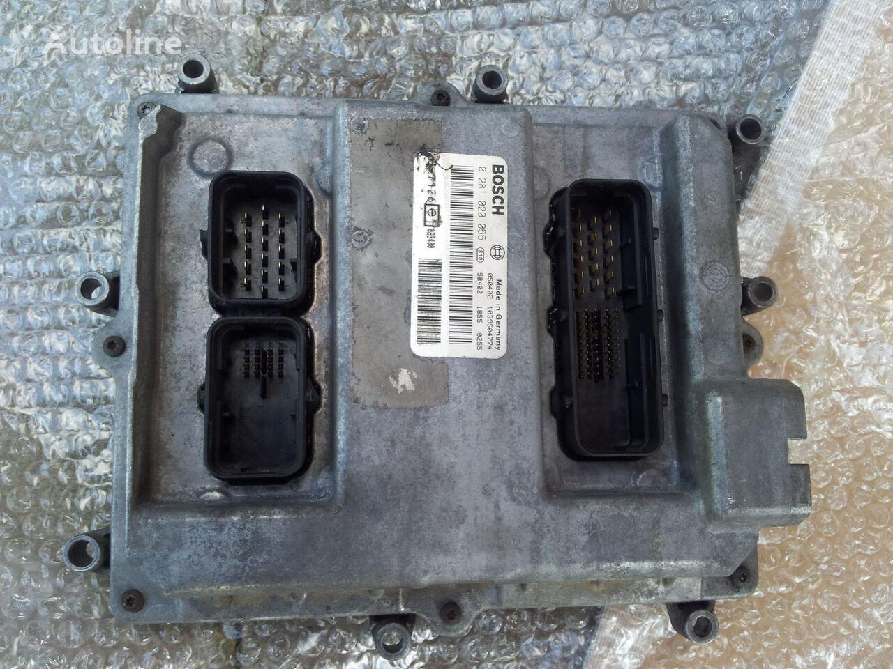 MAN Common Rail EDC, ECU electronic diesel control 0281020055, D2066LF01, 51258037126, 51258337169, 51258037127, 51258337168 bloco de controlo para MAN TGA camião tractor