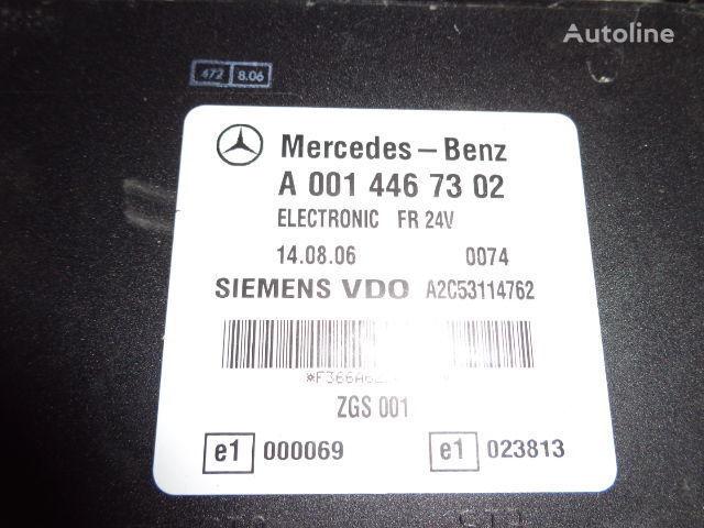 Mercedes Benz Actros MP2, MP3, MP4, FR control unit ECU 0014467302, 0014467302, 0004467502, 0014461002, 0014467402, 0004467602, 0004469602, 0014461302, 0014461402, 0014462602, 0014467002, 0014461902, 0014464102, 0014464002, 0024460102, 0014465402, 0024460 bloco de controlo para MERCEDES-BENZ Actros camião tractor