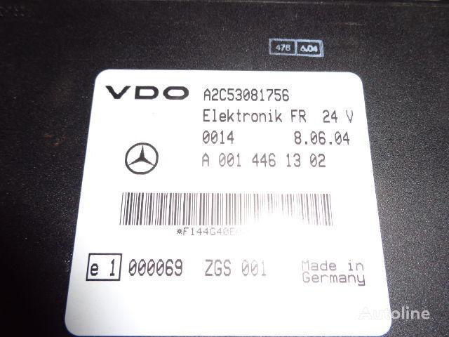 Mercedes Benz Actros MP2, MP3, MP4, FR control unit ECU 0014461302, 0004465502, 0004466602, 0014461002, 0014461302, 0014461502, 0014461102, 0014464302, 0024460202, 0024463202, 0024461302, 0024462902, 0024463402, 0034463502, 0024463402, 0034463502, 0024465002 bloco de controlo para MERCEDES-BENZ Actros camião tractor