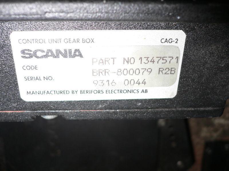 Scania GEAR BOX 1347571 . 1362616 . 1505135 . 488207. 1434153. 1368153. 1360315 bloco de controlo para SCANIA 113 autocarro
