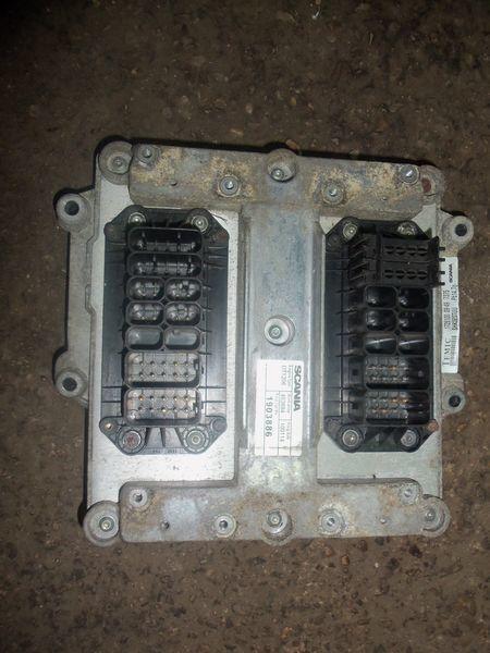 Scania R series engine computer, ECU, EDC, type DT1206, 1903886, 2061752, 2323675 bloco de controlo para SCANIA R camião tractor